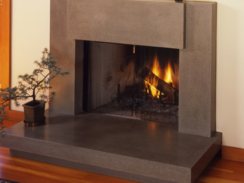 Fireplace surrounds from Bohemian Stoneworks