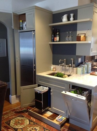 Utilize every inch of space-image via The Kitchen