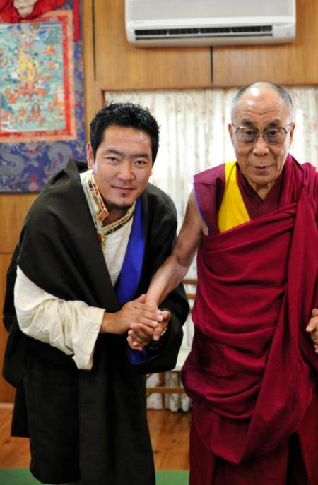 From the private meeting Tashi had with the honorable Dalai Lama