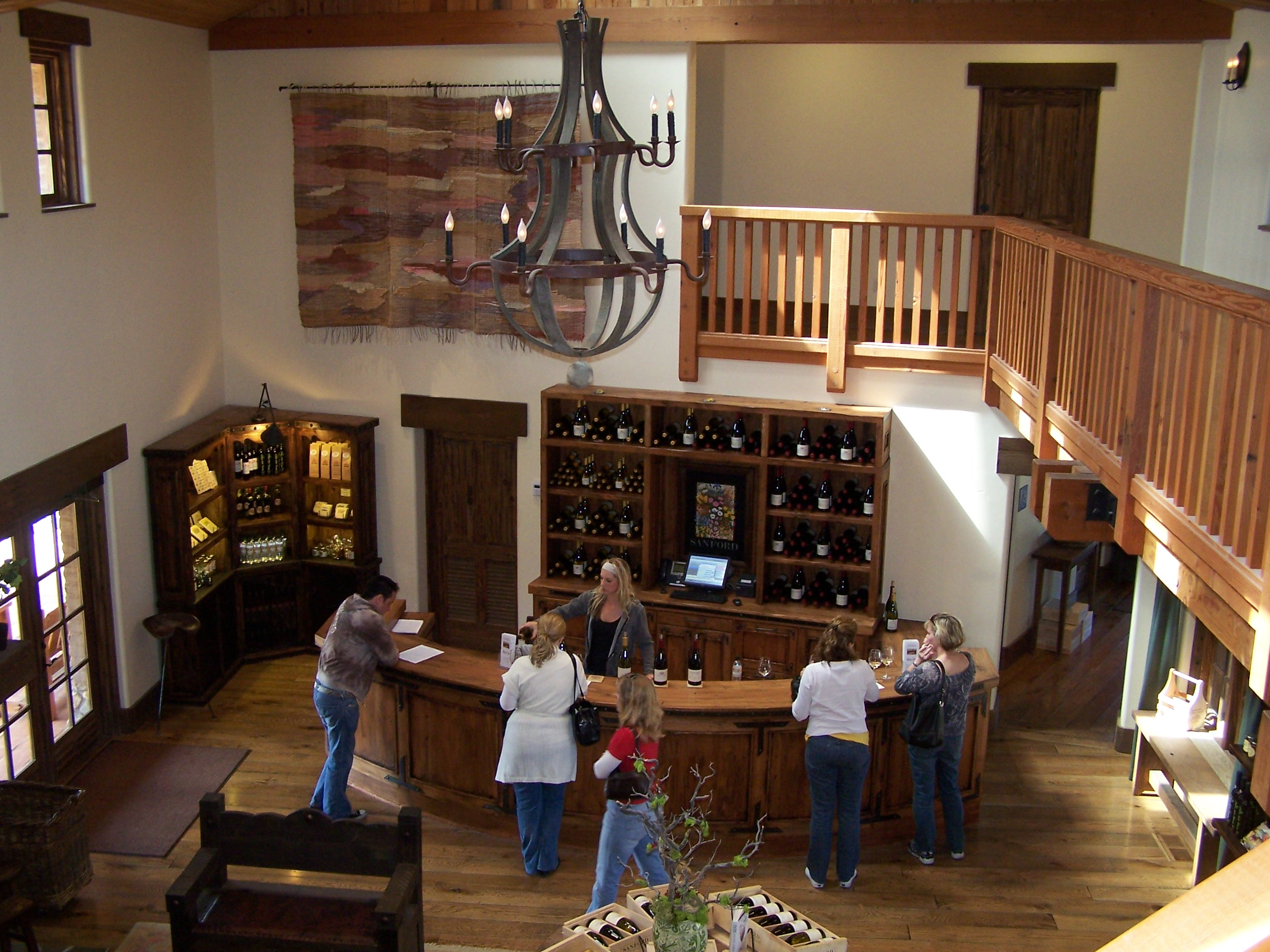 Sanford Wine Tasting Room It Sonoma Style