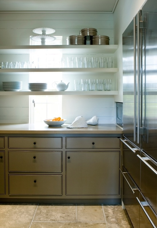 Open Shelving in Kitchens-In or Out?