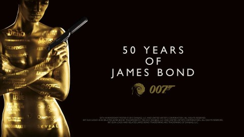 James Bond-50th-Anniversary