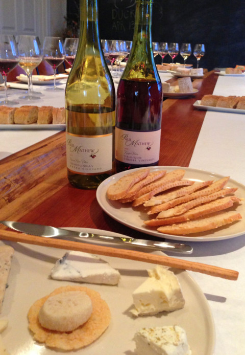 Wine & Cheese Pairing-Paul Mathew Vineyards