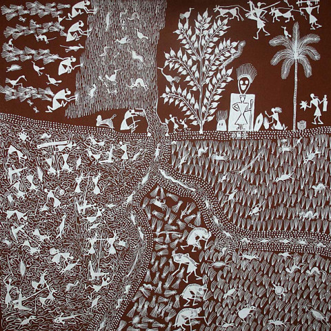 Warli India Tribal Art