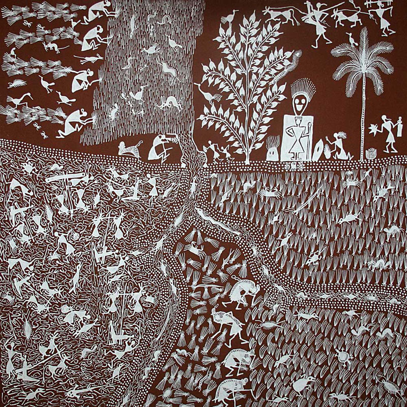 Tribal Art from India-Warli Painting