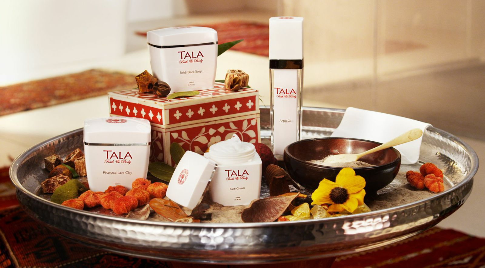 Tala-an authentic at home hammam experience, via Mr. Steam