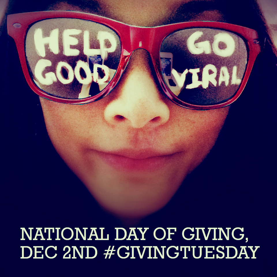 Go viral with #GivingTuesday and your own #UNselfie