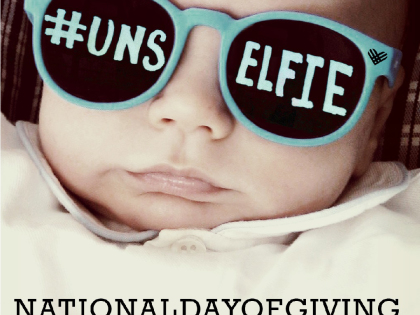 #Giving Tuesday Challenge-the #Unselfie