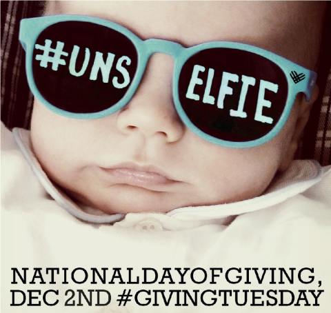 Giving Tuesday Challenge-the Unselfie