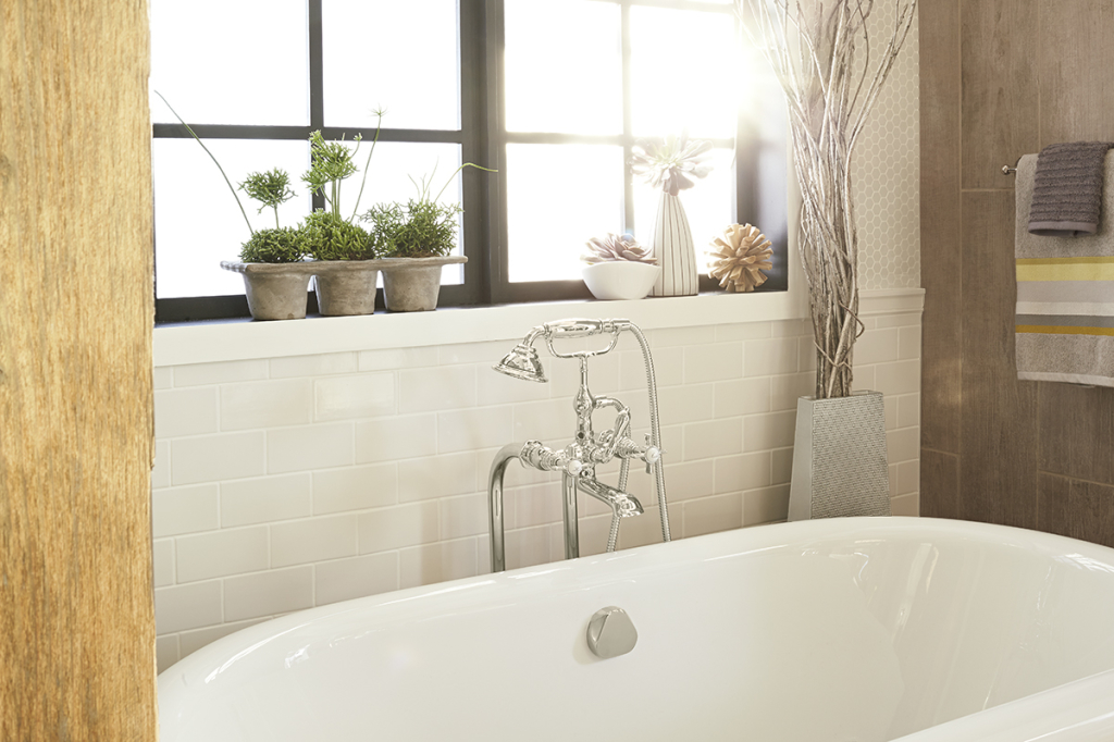 Two Trends to Combine for Bathroom Renovation-DXV & Nature