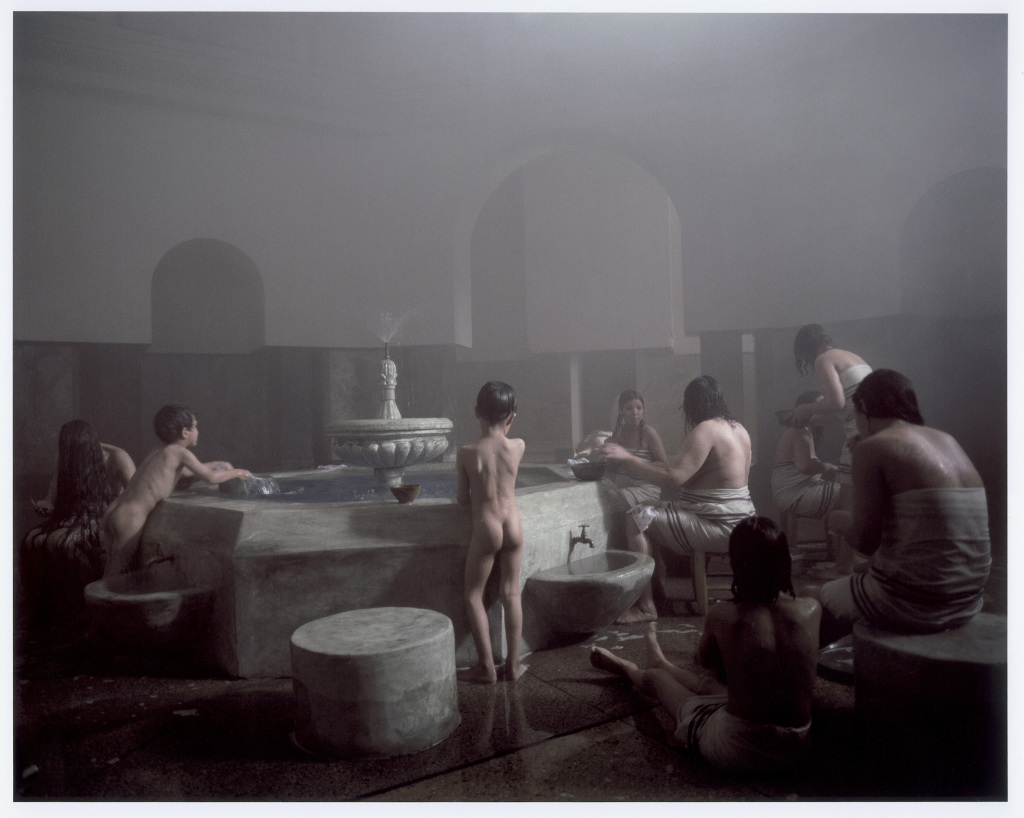 Hammam, women's and children's room-Women Without Men- Movie, by Shirin Neshat 2005, Foto: Larry Barns