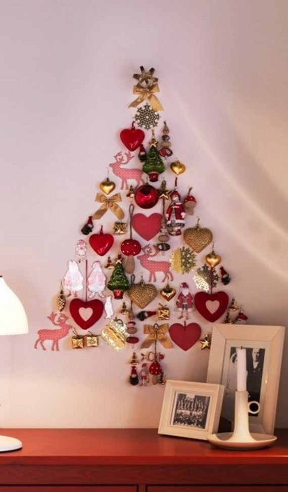 Non Traditional Christmas Tree-image via Carla Aston