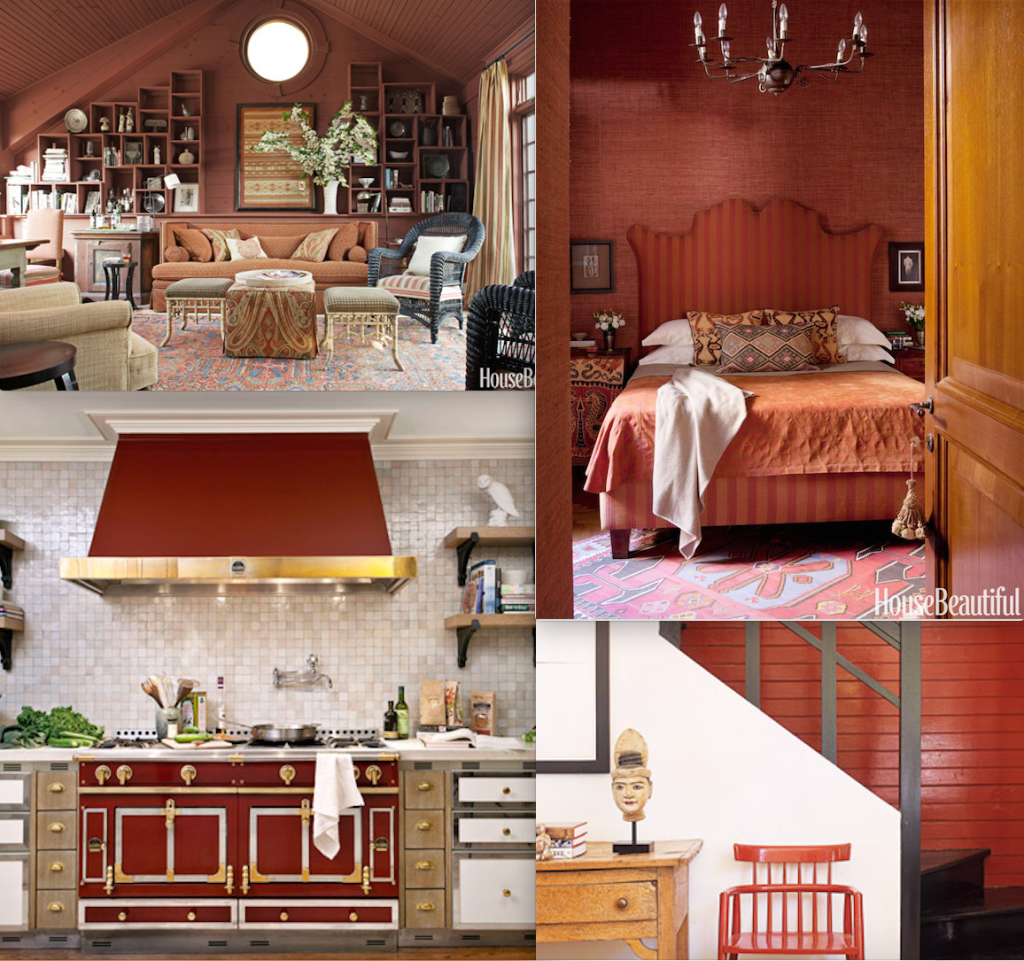 Marsala for the home-images via House Beautiful