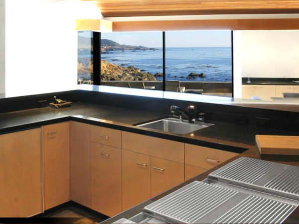 34420 Hwy. 1-Private Ocean Front Estate: kitchen view