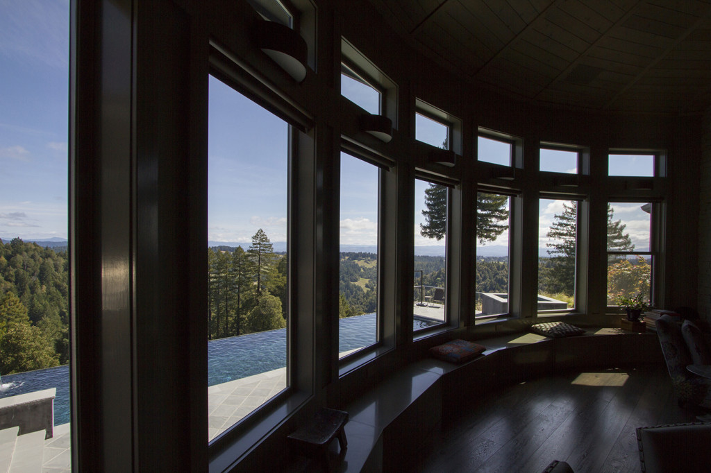 "Incredible views from each and every window throughout this luxurious estate for sale in Occidental, the new ""sweet spot"" of Sonoma's West County."