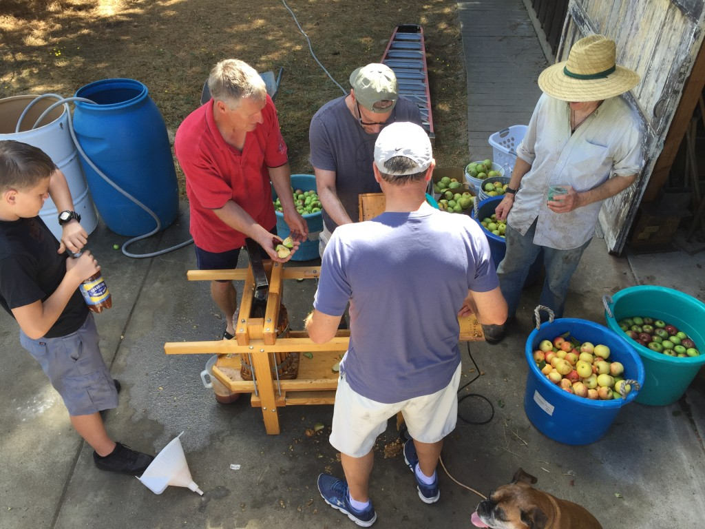 Community Lives-Apple Harvest-Entertaining Sonoma Style™
