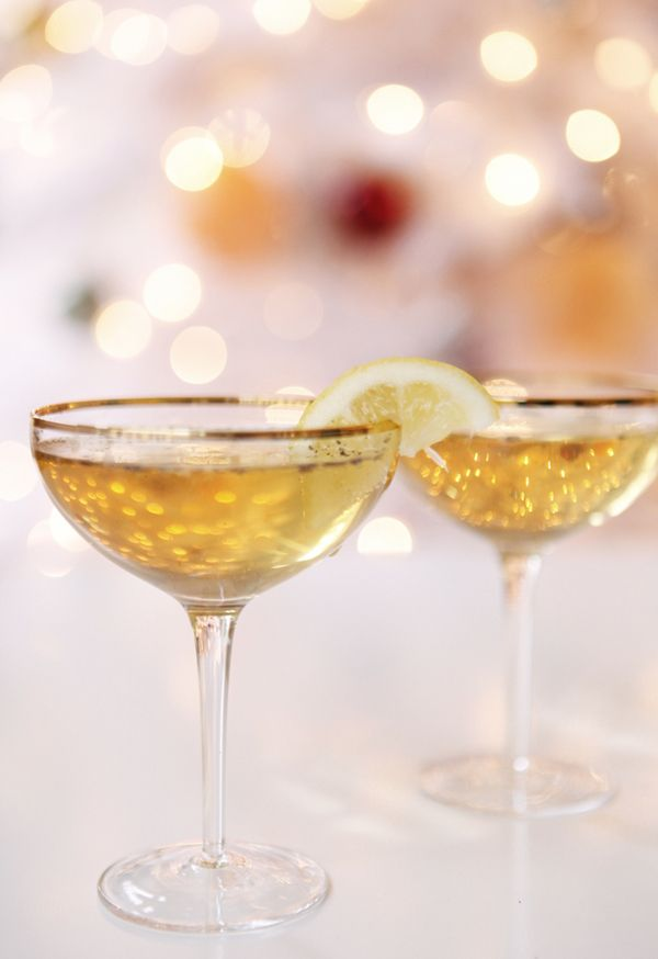 Cheers to the New Year!- image via Coco Kelley blog
