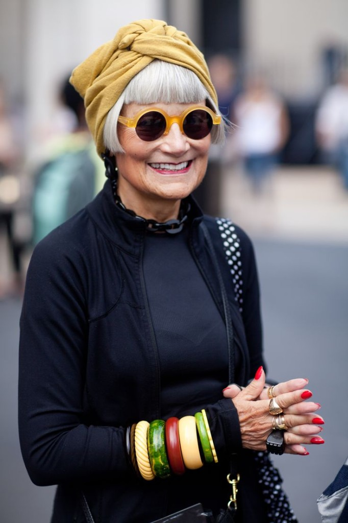 Aging doesn't look like it used to, does it? image via On Abbot Kinney blog