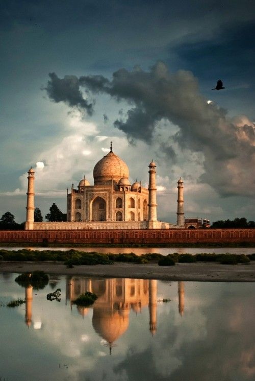 The Taj Mahal, originally via Mundos Magicos
