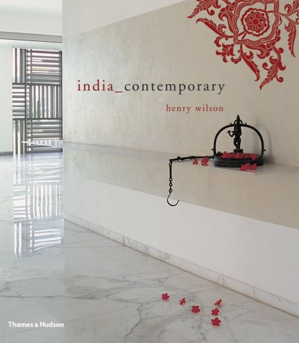 The cover of India_Contemporary, click the link to see more and order from Amazon