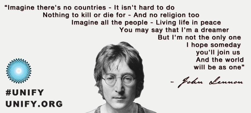 John Lennon said it best
