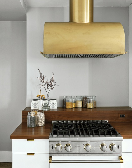 yes, brass vents-image via the Kitchen blog