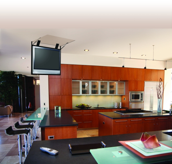 Auton Ceiling FlipDown 2  11 Tips on How to Display Your Flat Screen TV