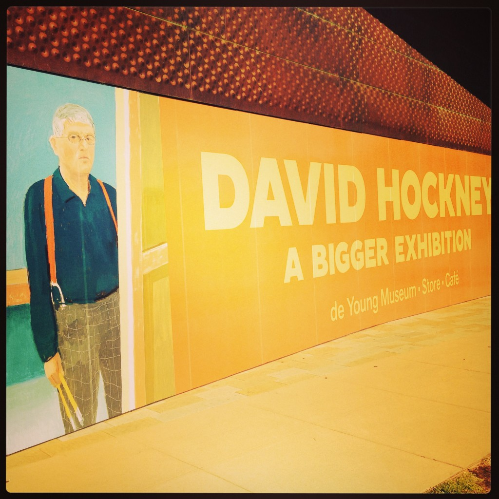 David Hockney-A Bigger Exhibition at the DeYoung