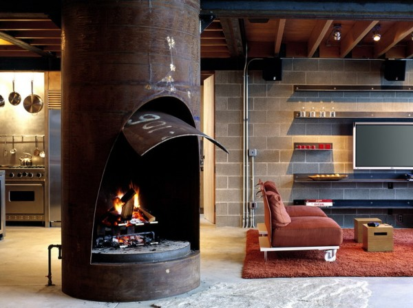 Chicken Point Cabin by Olson Kundig Architects 10 600x448 4 Home Trend Part 2 2011 and Beyond