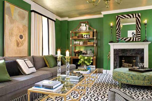 Green Interior Design Spring Green For Your Home