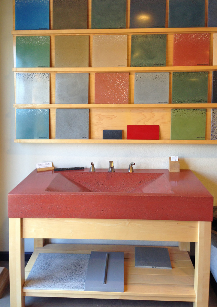 Cement for Interiors-it isn't what it used to be, from Bohemian Stoneworks, image by Irene Turner