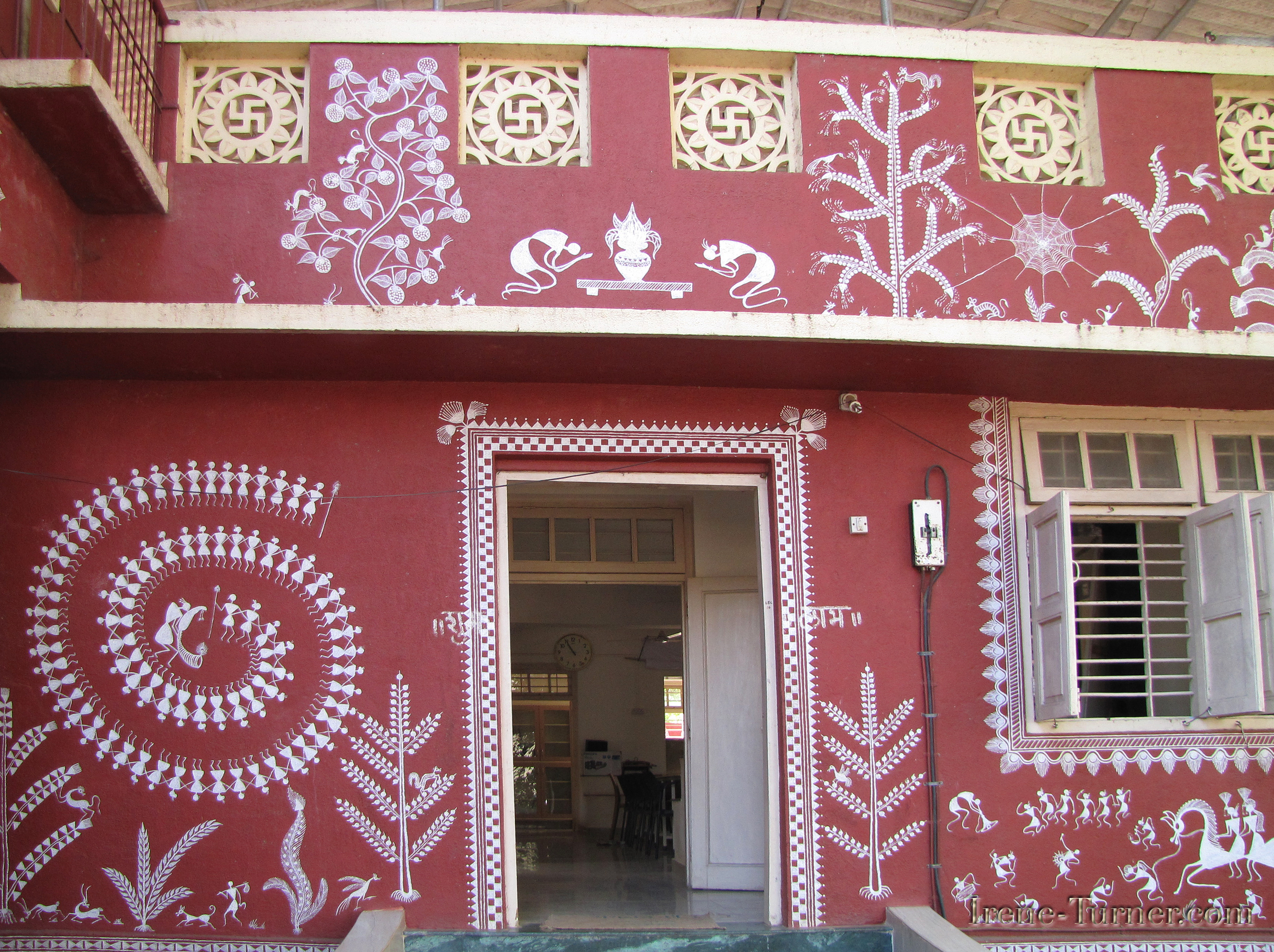 Tribal Art from India-Warli Painting - IT Sonoma Style