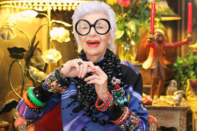 Iris Apfel has Style-image via the English Room