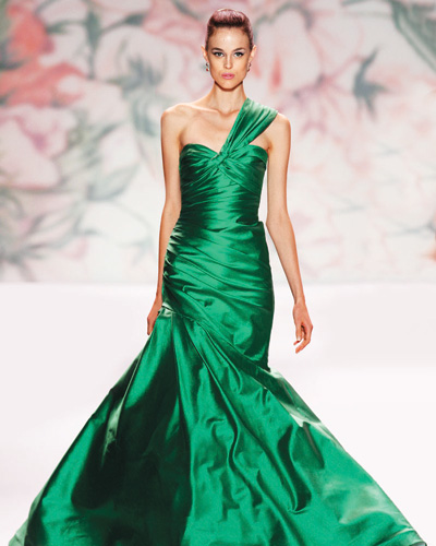 Monique Lhuillier sp 2011 Spring Green For Your Home