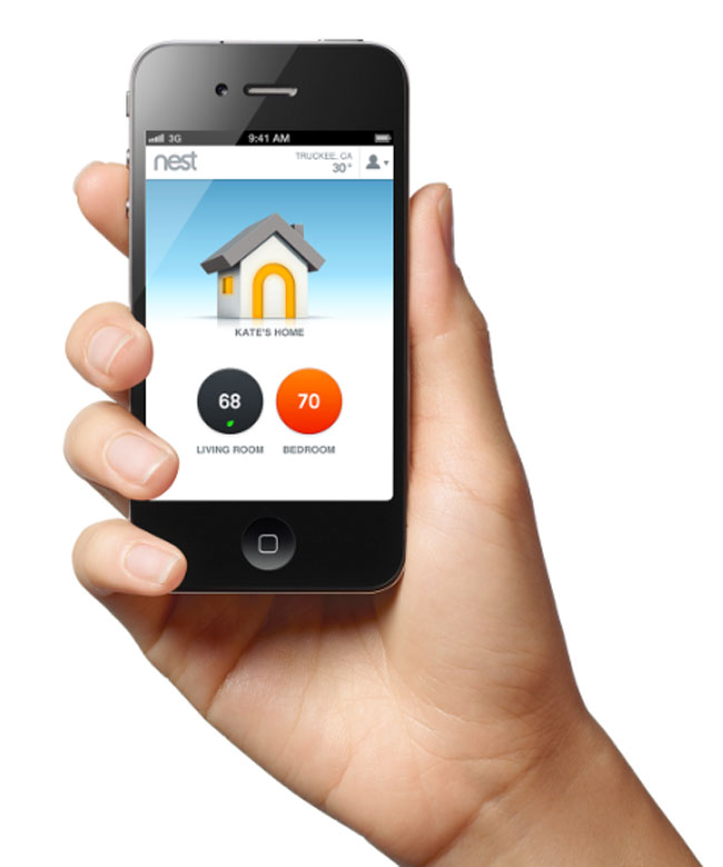 Smart Technology for Your Home-control your nest products with their app