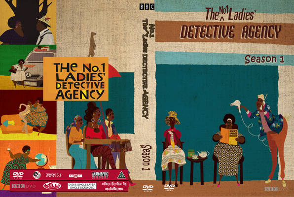 The No.1 Ladies Detective Agency Season 1 Front Cover 28818 #1 Ladies Detective Agency colorful on every level