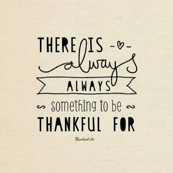 ALWAYS something to be grateful for!-image via Living Well