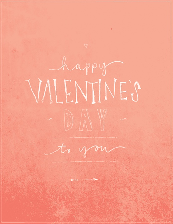 Happy Valentines Day to you!-image via Eva Black Design