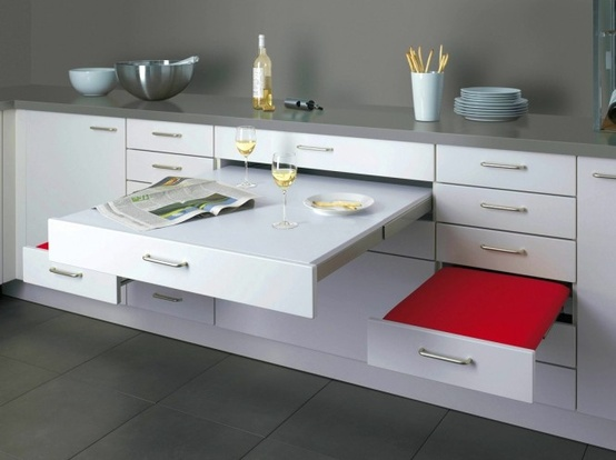 add extra counter space this way-image via Home Designing