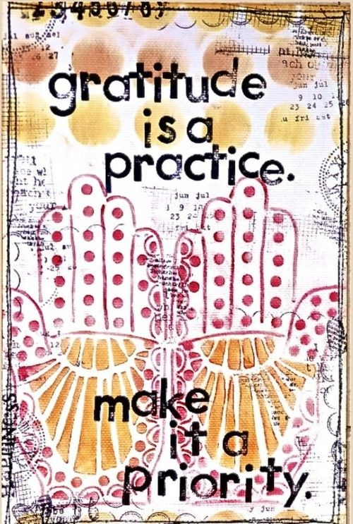 Gratitude is a Practice-image via