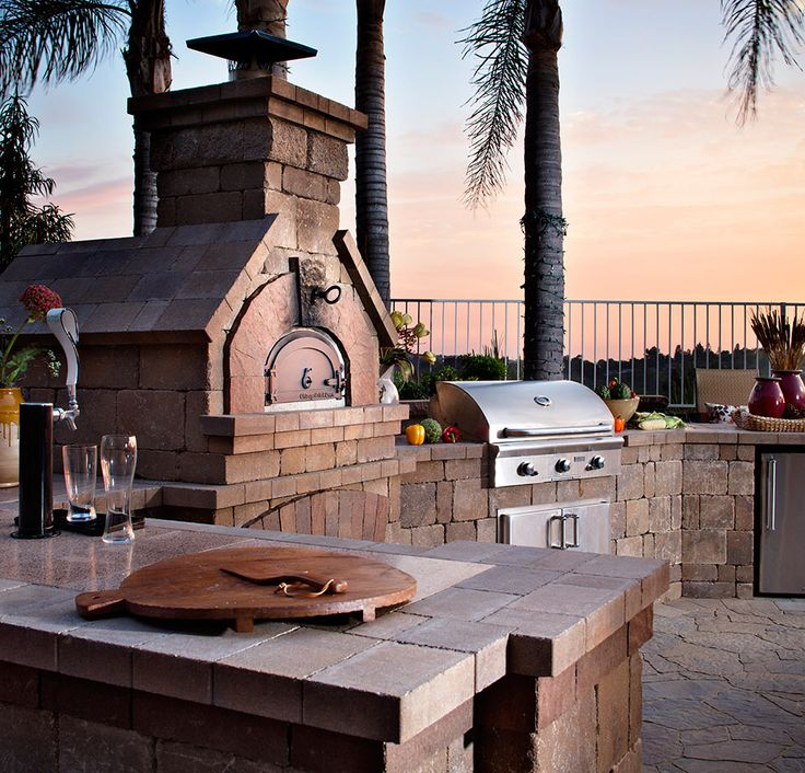 Outdoor Kitchen in Wine Country-image via Bohemian Stoneworks