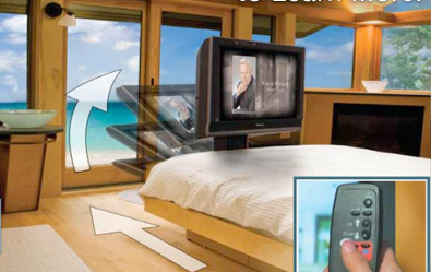dream machine left4  11 Tips on How to Display Your Flat Screen TV