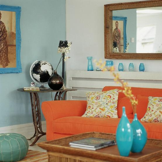inspire inspire blog the Color Orange Sonoma Style