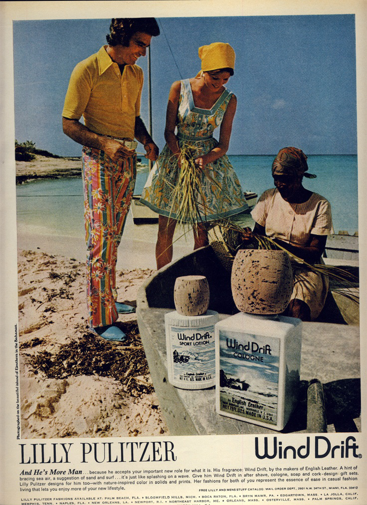 "Wind Drift Ad from the 70""s-image via the Citizens of Fashion"