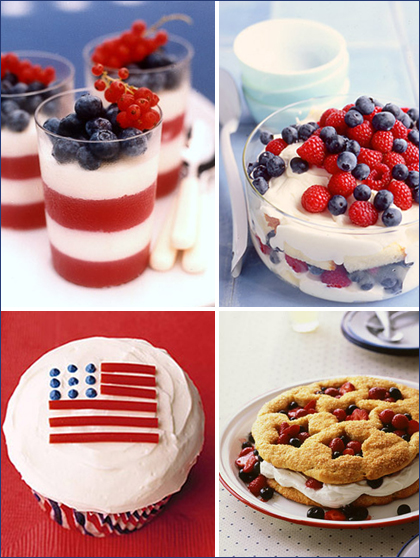4th of July Dessert | Irene Turner &quot;Little Bits of Beauty
