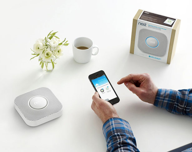 Smart Technology for Your Home-Nest smoke & carbon detector