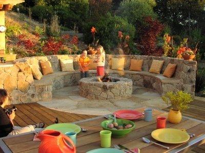 outdoor room seance Outdoor Living Space Sonoma Style
